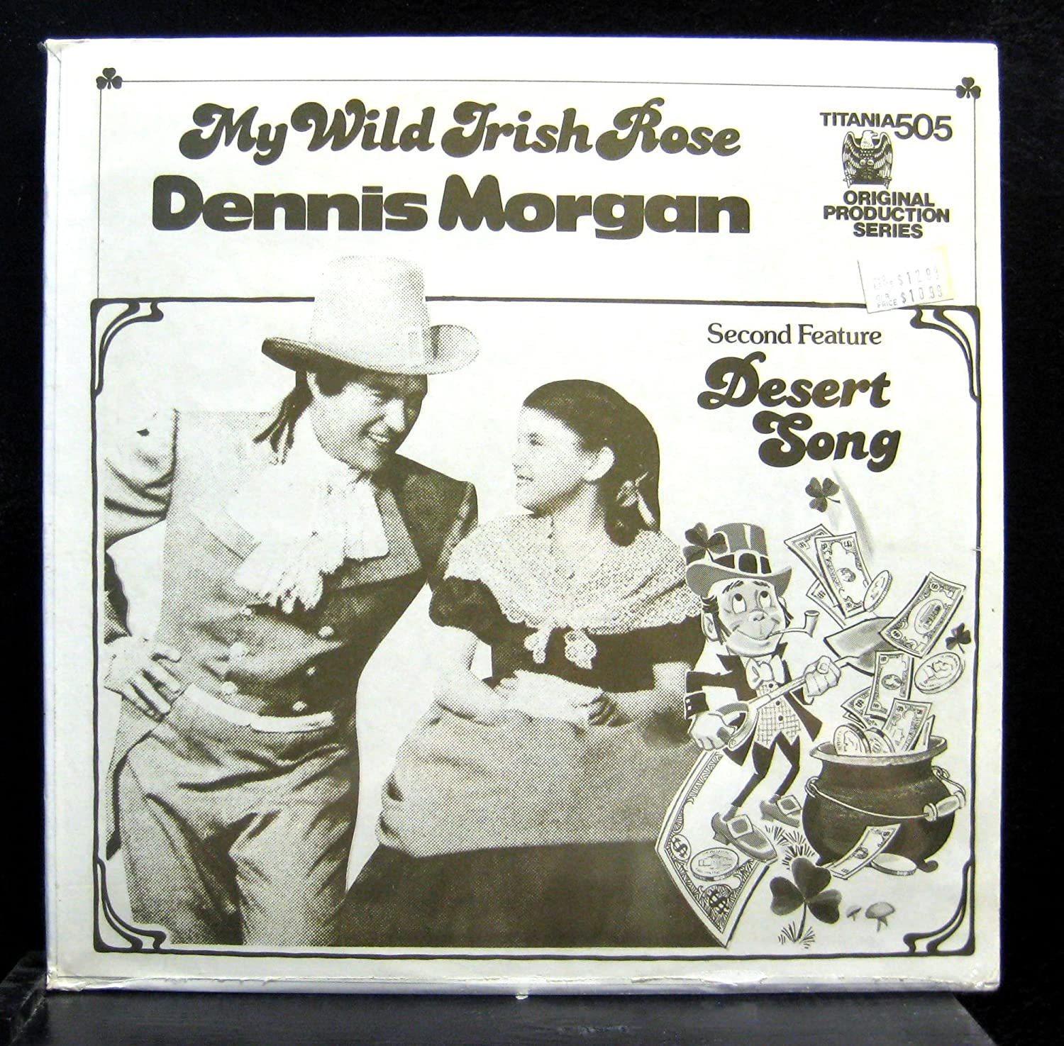 Dennis Morgan Dennis Morgan My Wild Irish Rose Vinyl Record Amazon Com Music