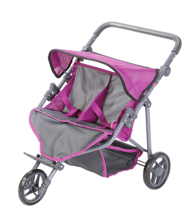 tec Purple KNORRTOYS.COM Knorr Toys 16782 Puppenwagen