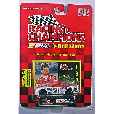 Racing Champions 1997 21 Citgo Michael Waltrip 1/54 Scale die cast Nascar Replica: Toys & Games