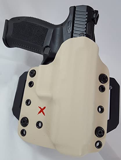 RedX Gear Canik TP9SF Elite Xpert OWB Holster-TDesert Tan- Right Hand