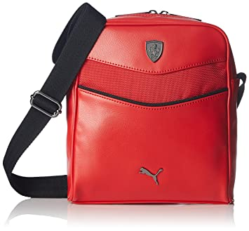 b8b06bc9b4 Puma Ferrari LS Portable (073941 02) (Rosso Corsa)  Amazon.co.uk ...