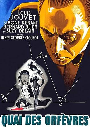 Amazon.com: Quai Des Orfevres (aka Jenny Lamour): Louis Jouvet, Suzy  Delair, Bernard Blier: Movies & TV