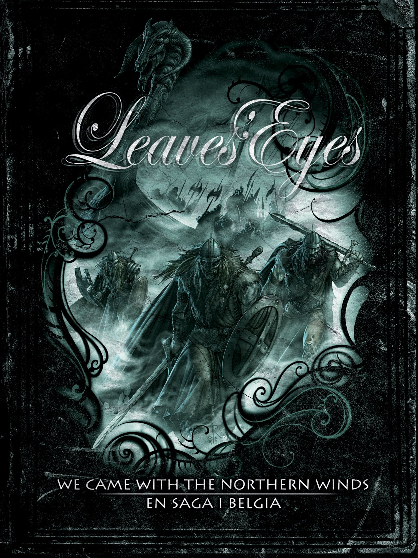 Leaves\' Eyes - We Came with the Northern Winds: En Saga I Belgia (Digipack Packaging, 2PC)