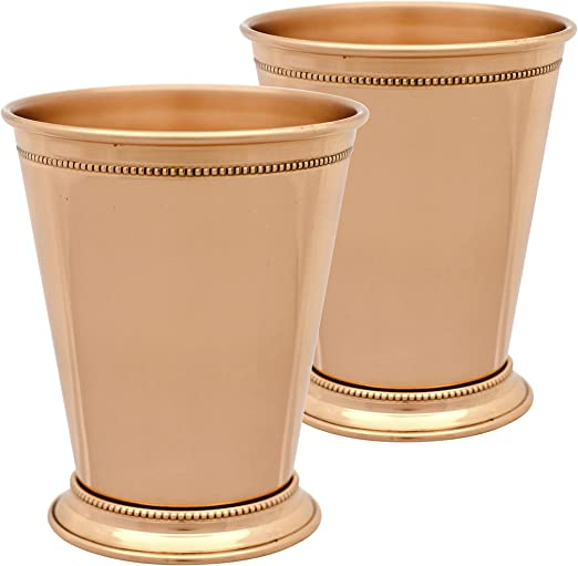 10 Strawberry Street Copper Julep Cup Set of 2 12 Oz Copper COP-JULEP2
