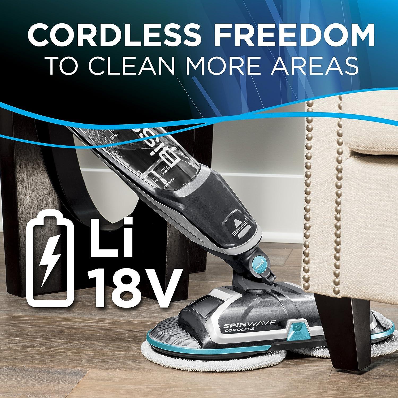 Bissell Spinwave Cordless Hard Floor Mop Wood Floor