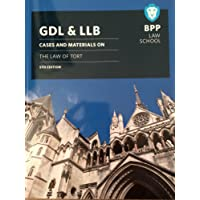 GDL & LLB Cases & Materials on the Law of Tort 5th edition