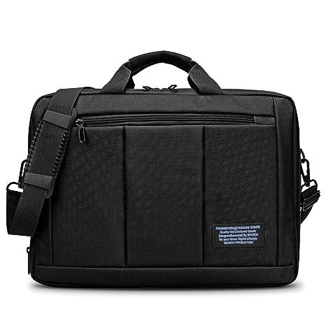 b3b2df9a6f9c Convertible Laptop Messenger Bag Backpack,BRINCH Multi-Compartment  Mens/Womens Portable Travel Business Shoulder Bag Briefcase College Laptop  Case ...