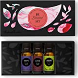3/ 10 ml Be Blessed Essential Oil Set- 100% Pure Therapeutic Grade Aromatherapy Oils - Hope, Love, Uplift by Edens Garden