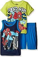 Marvel Boys' 3 Piece T-Shirt, Tank and Short Set