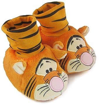 3704d66cf58a8 Padders Disney Tigger Unisex Baby Stripe Socktop Shoe, Orange, 3 - 6  Months: Amazon.co.uk: Clothing