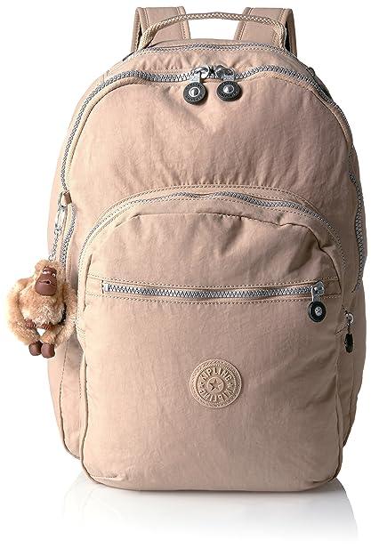 Kipling seúl mochila beige Hummus talla única: Amazon.es: Zapatos y complementos