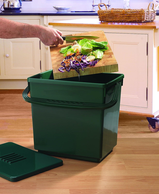 amazoncom tierra garden gp113 odorfree compost caddy large trash compactors garden u0026 outdoor