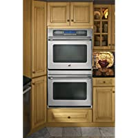 """GE CT959STSS Cafe 30"""" Stainless Steel Electric Double Wall Oven - Convection"""