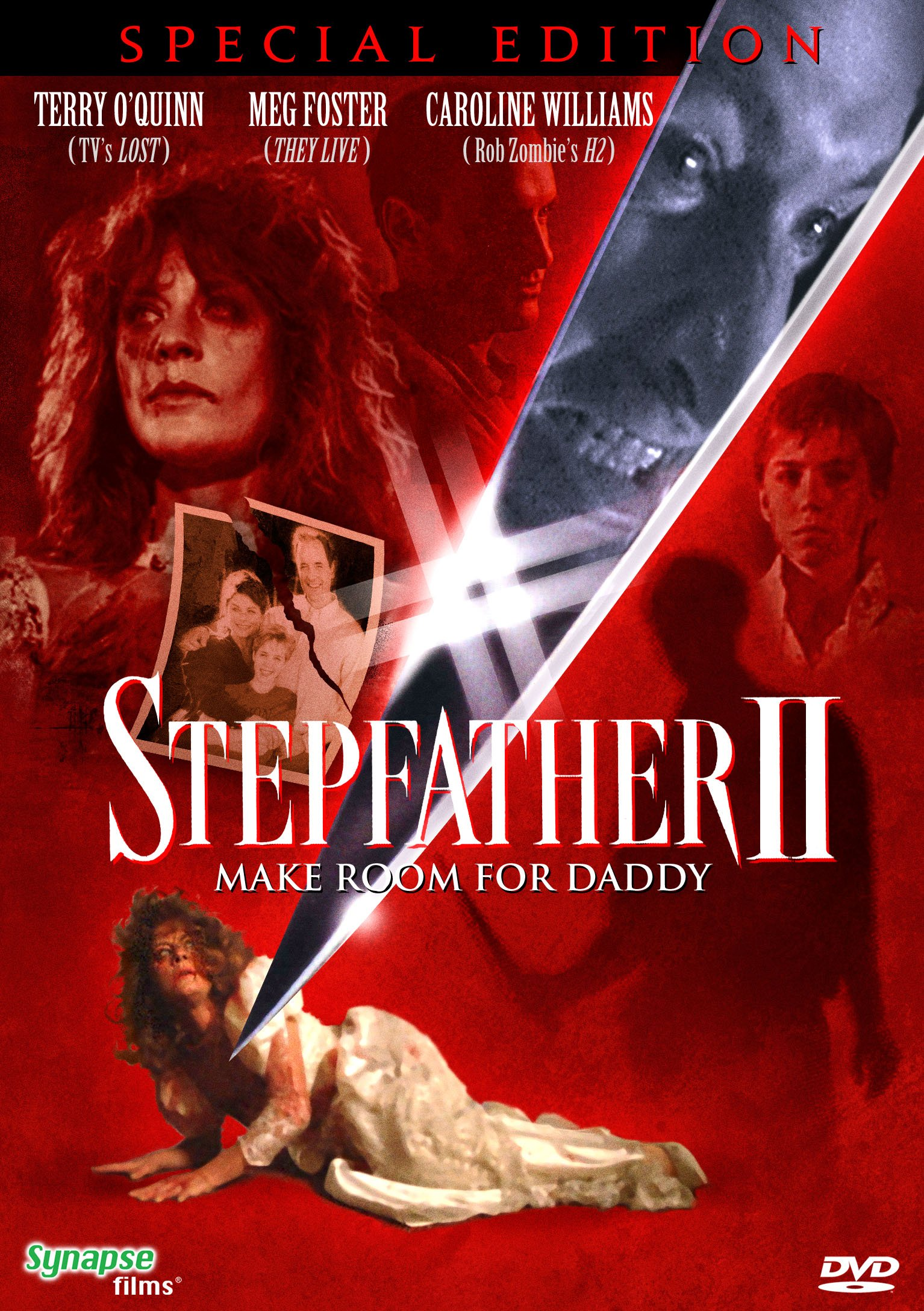 DVD : Stepfather II: Make Room for Daddy (Widescreen, Dolby)