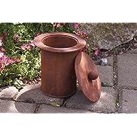 Feuerkorb bronze klein Corten Fire Basket ✔ rund ✔ rostig (Edelrost)