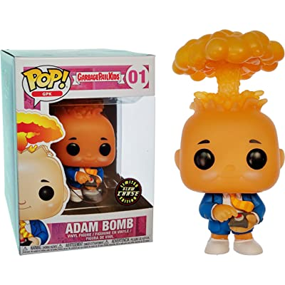 Funko Adam Bomb (Chase Edition): Garbage Pail Kids x POP! GPK Vinyl Figure & 1 POP! Compatible PET Plastic Graphical Protector Bundle [#001 / 26003 - B]: Toys & Games