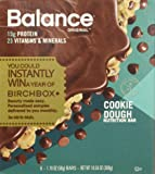 Balance Bar Cookie Dough 6 Count,net weight 10.56 ounce,(Pack of 3)