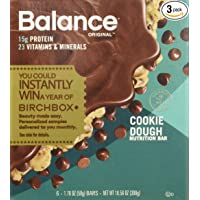 Balance Bar Protein Bars 1.76 oz Pack of Three 6-Count Boxes Deals