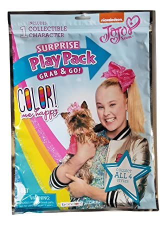 Amazon com : Jojo Siwa SURPRISE Play Pack Grab & Go! COLOR