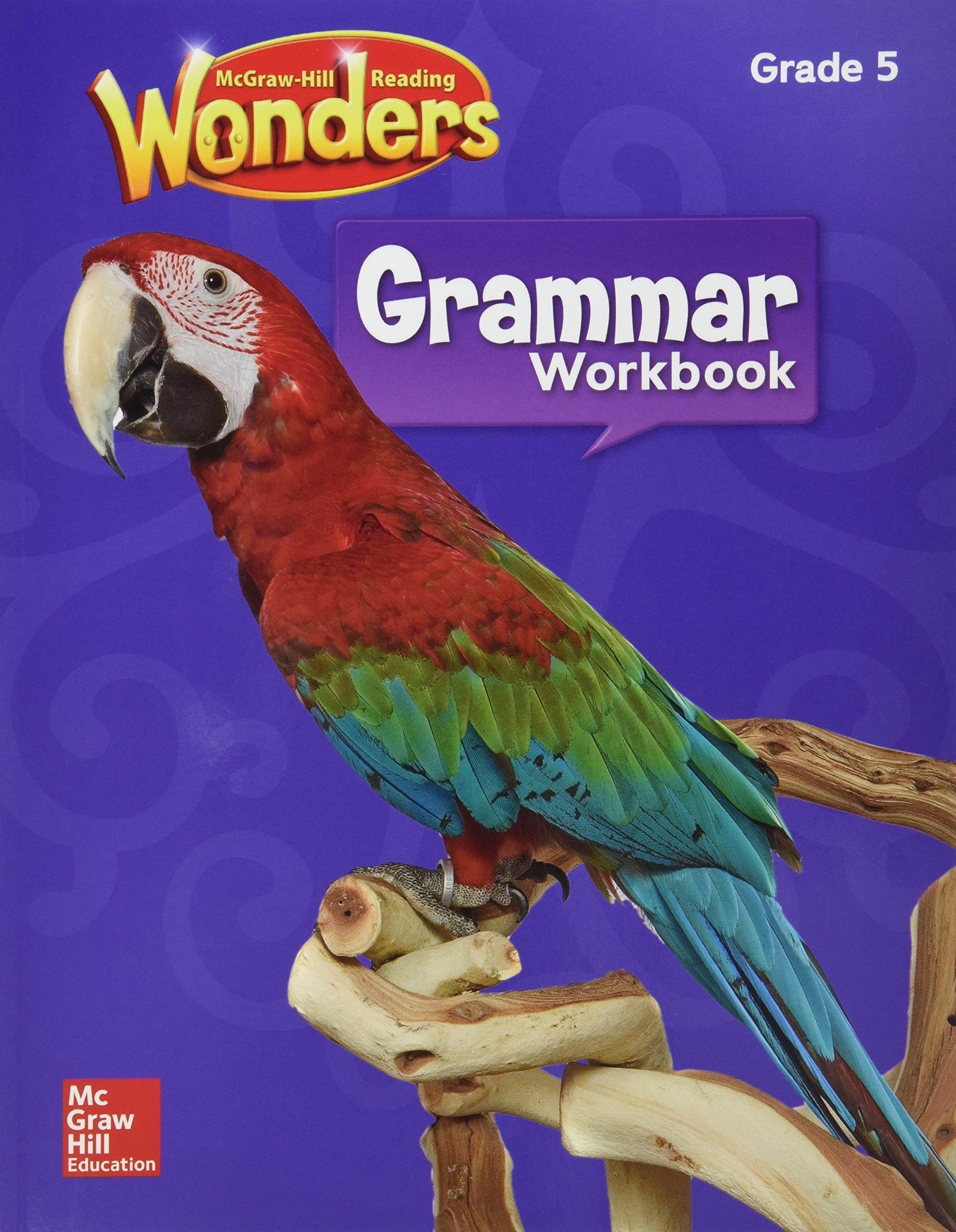 Download WONDERS GRAMMAR WORKBOOK GR. 5 pdf