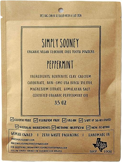 Simply Sooney Tooth Powder