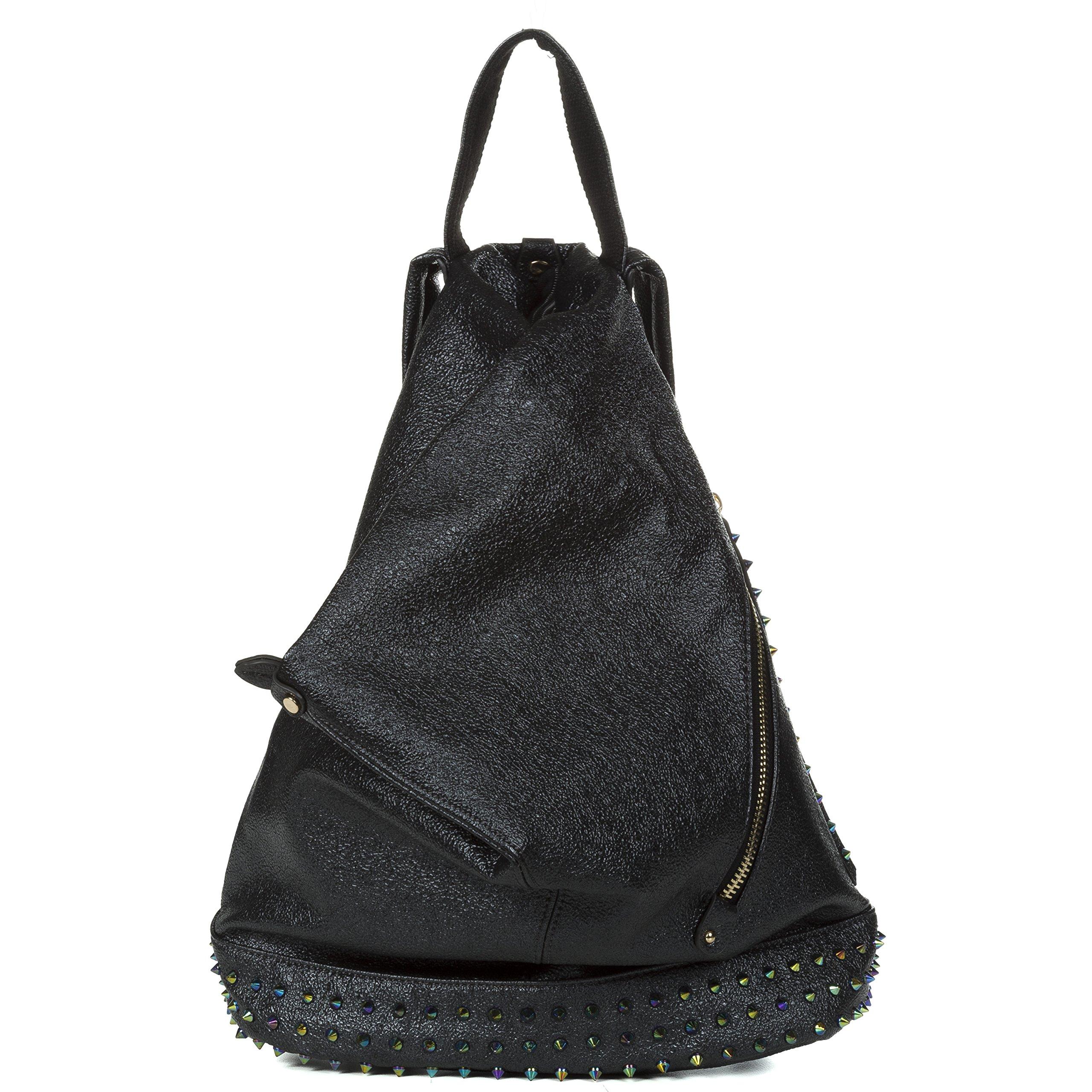 Handbag Republic Fashion Backpack Vegan Leather Travel Bag Easy Carry For Women by Handbag Republic (Image #1)