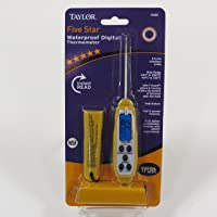 Taylor Precision Products Commercial Anti-Microbial Instant Read Thermometer