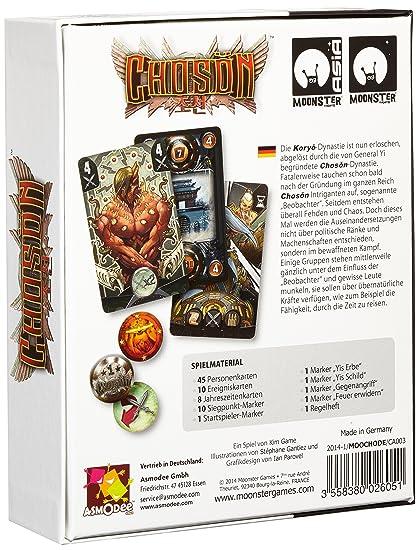 Asmodee 002650 Choson Game: Amazon.co.uk: Toys & Games