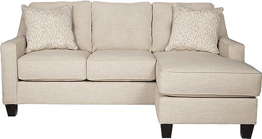 Amazon.com: benchcraft aldie nuvella arena sofá Chaise Queen ...