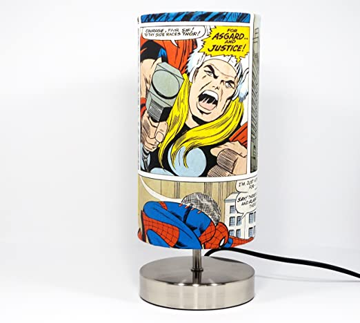 Exceptional Marvel Avengers Lamp Light Lampshade Bedside Table Desk Lamp Lamps Night  Light Boys Kids Childrenu0027s Bedroom