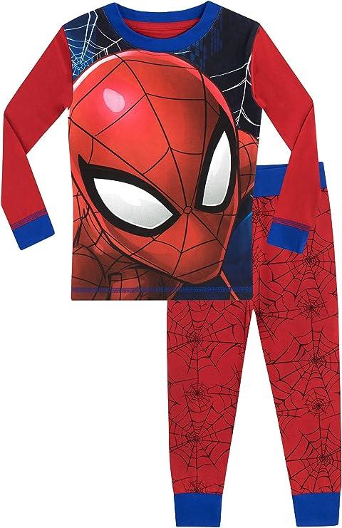 Spiderman Schlafanzug /Ökotex Standard 100 Kurz Jungen