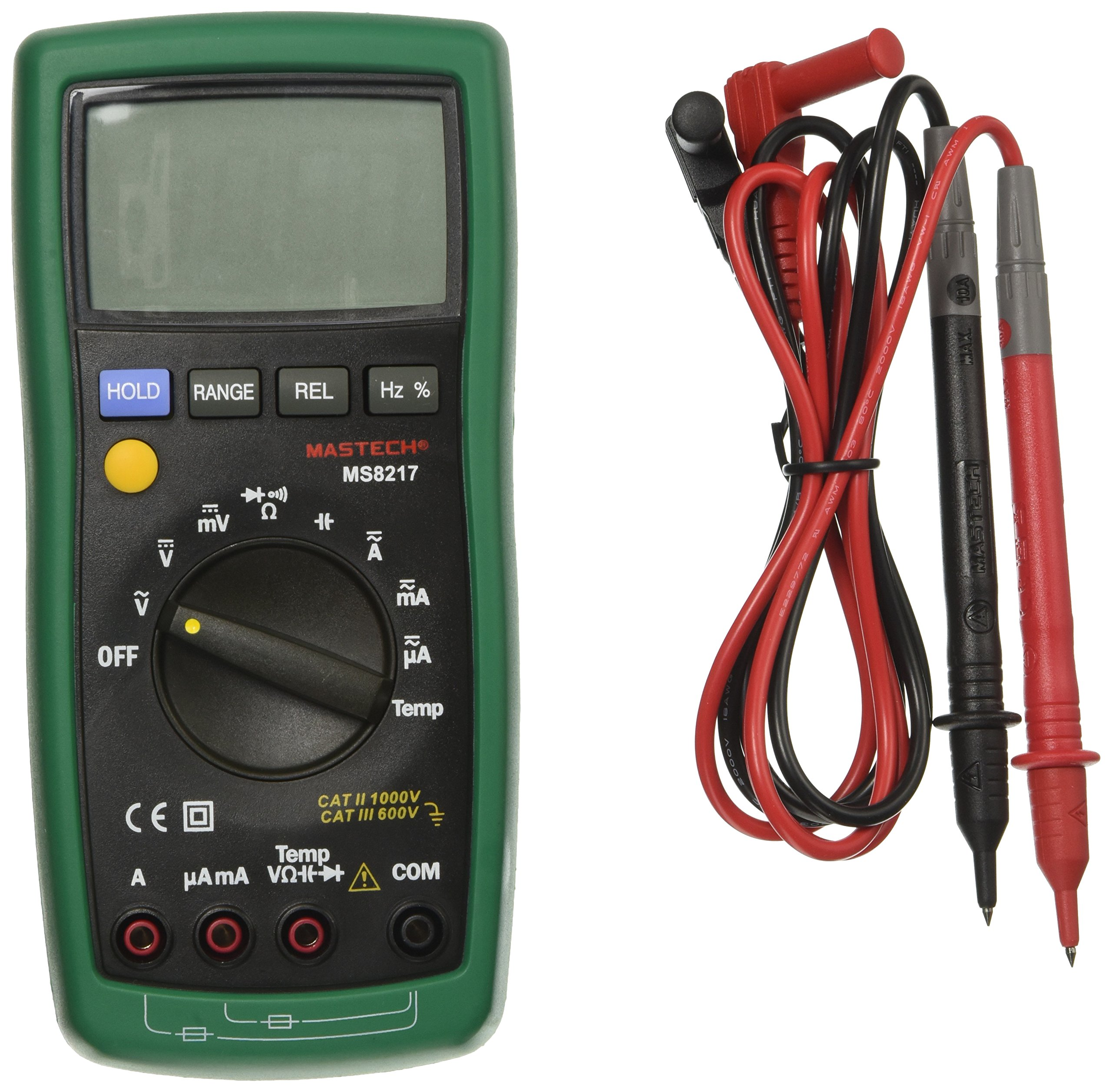 Mastech MS8217 AC/DC Auto ranging Digital Multimeter with 4000 Counts