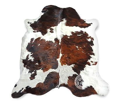 Sunshine Cowhides Tappeto di Pelle di Mucca Tricolor 240 x 180 cm – qualità  Premium Pelle del Sole