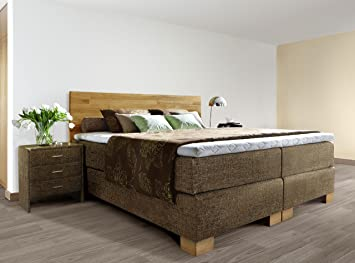 boxspringbett holz kopfteil. Black Bedroom Furniture Sets. Home Design Ideas