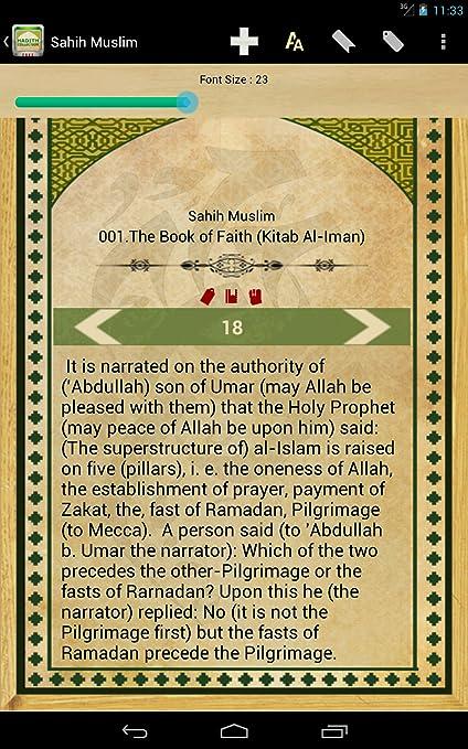 Hadith - Sahih Bukhari, Sahih Muslim, Sunan Ibn Majah, Sunan Abu Dawud,  Sunan Nasai, Jami Tirmidhi, Muwatta Malik, Riyad As-Salihin, Sunnah of  Prophet