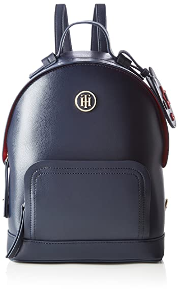 Tommy Hilfiger Th Mascot Backpack, Women's Blau (Tommy Navy), 29x10.5x22 cm  (B x H T): Amazon.co.uk: Shoes & Bags