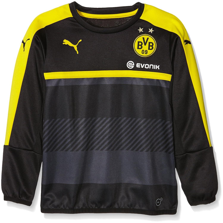 Puma - Sudadera Deportiva para niño con patrocinador del Equipo de fútbol Borussia Dortmund, Infantil, Color Negro/Amarillo, tamaño 176: Amazon.es: Deportes ...