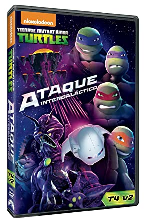 Teenage Mutant Ninja Turtles 4.2: Ataque Intergaláctico DVD ...