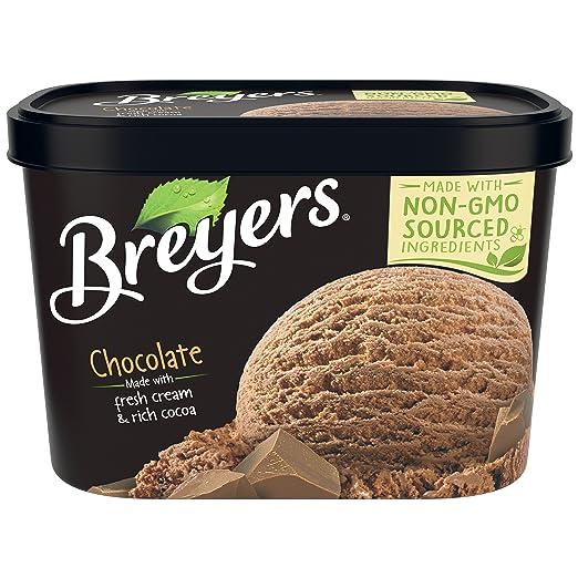 Breyers Original Ice Cream, Chocolate 48 oz (Frozen)