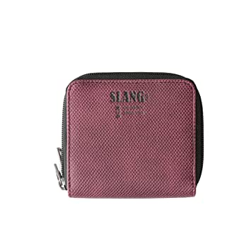 Slang Barcelona Monedero Billetero Mujer Slang (efi7) Elastic First, Burdeos/Burdeos: Amazon.es: Hogar
