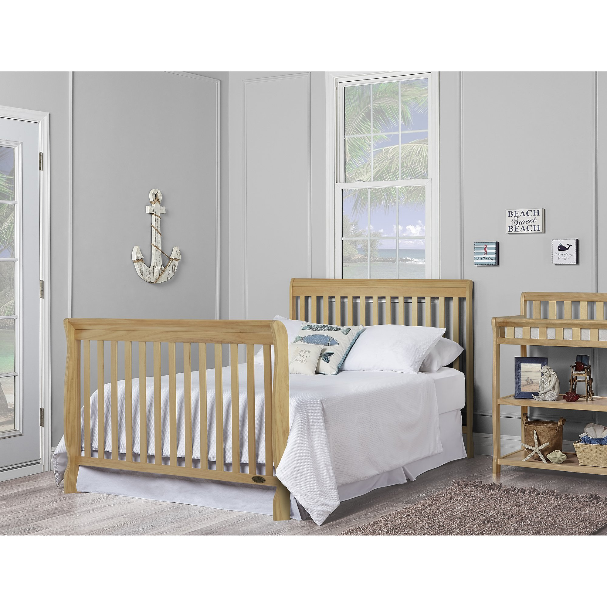 Dream On Me Ashton 5 in 1 Convertible Crib, Natural by Dream On Me (Image #6)