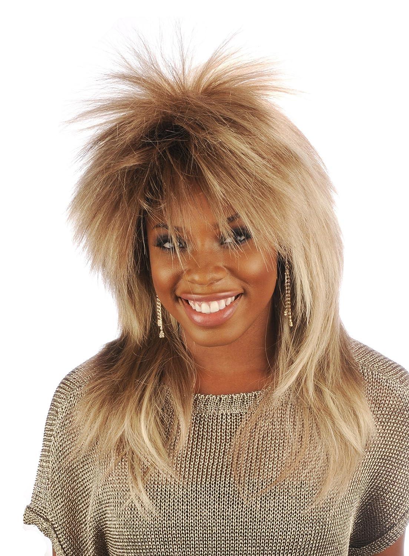 Tina Turner Character Costume Wig