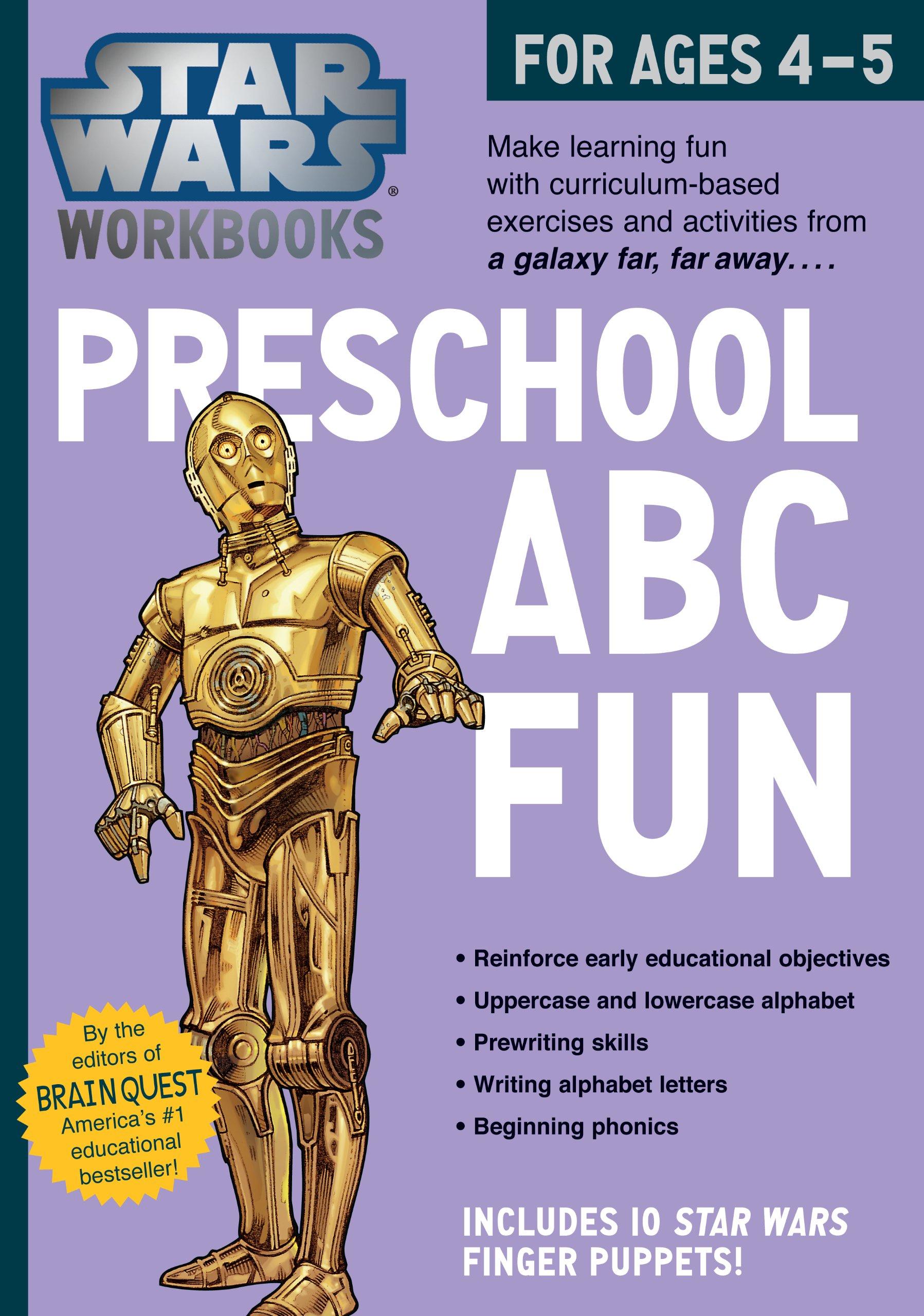 Star Wars Workbook: Preschool ABC Fun Paperback – Jun 17 2014 Workman Publishing Workman Publishing Company 0761178031 Activity Books