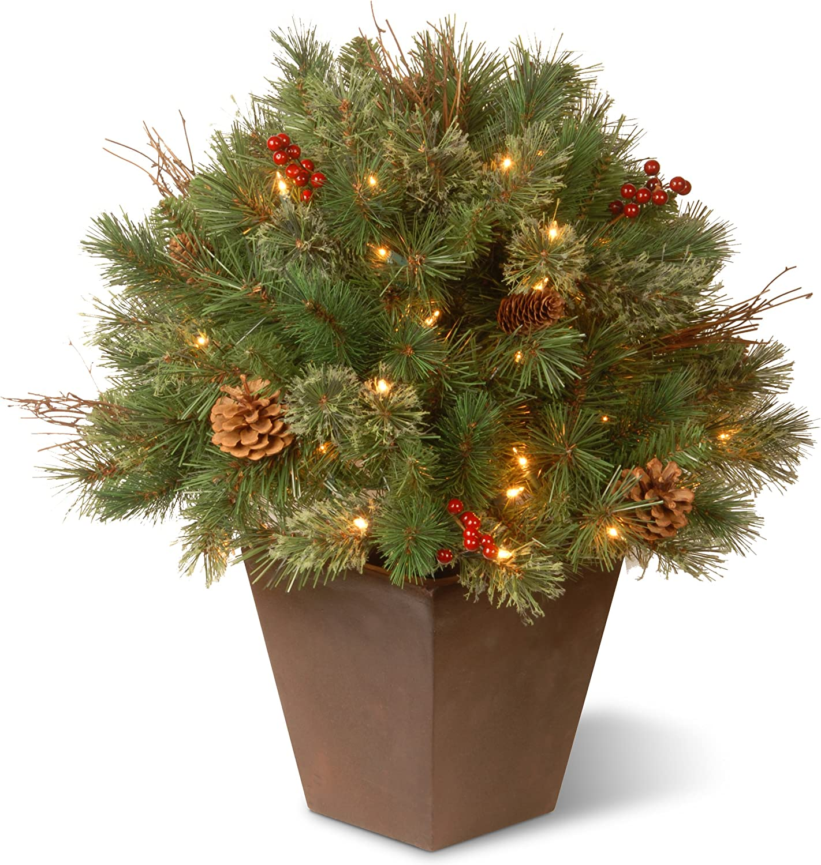 branche Icy Brown /& Clear Tige Longueur 78 cm Parlane Synthétique Fleurs