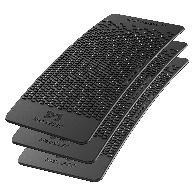 Mate2GO Anti-Rutsch-Armaturenbrett Matte Auto Non-Slip Matte fü r Handyhalterung, Mobiltelefone, Sonnenbrillen und Schlü ssel (3er Pack) - New