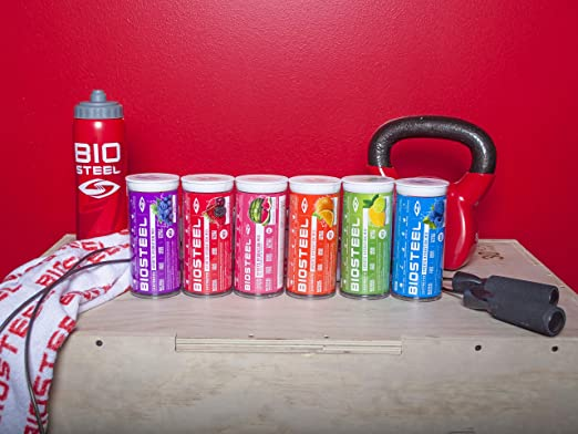 biosteel Mix Packet tube-12ct 7 g/Paquete, talla única ...