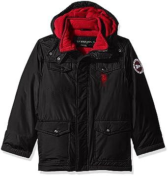 ce668122f Amazon.com  U.S. Polo Assn. Big Boys  Outerwear Jacket (More Styles ...