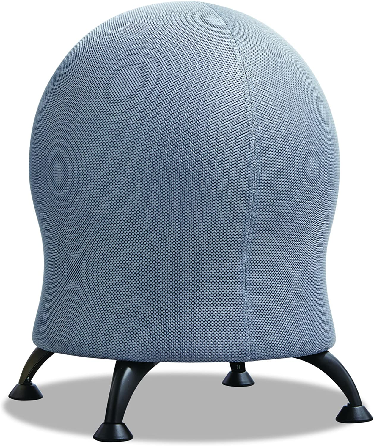 Safco Products 4750GR Zenergy Ball Chair, Gray, Low Profile, Active Seating