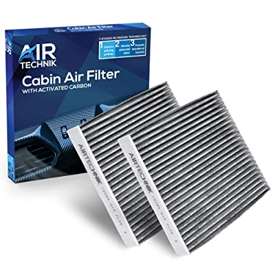 AirTechnik CF10285 Replacement for Toyota/Lexus/Scion/Subaru - Premium Cabin Air Filter w/Activated Carbon (2 Pack): Automotive
