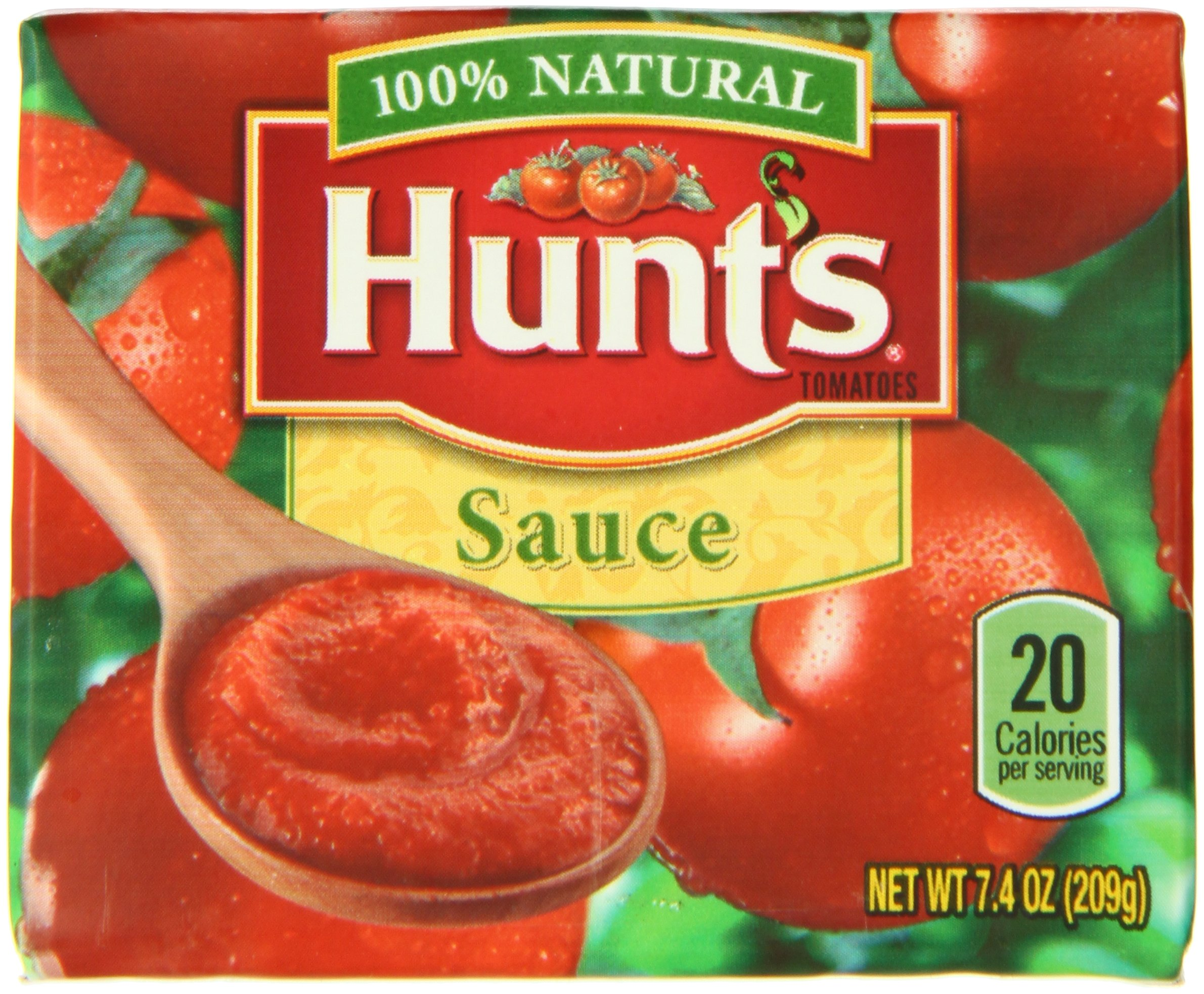 Hunt's Tomato Sauce Carton, 7.4 oz, 24 Pack